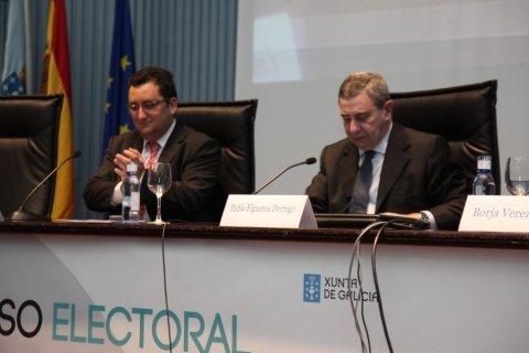 Inauguración. - Xornadas sobre o proceso electoral e renovación das entidades locais galegas